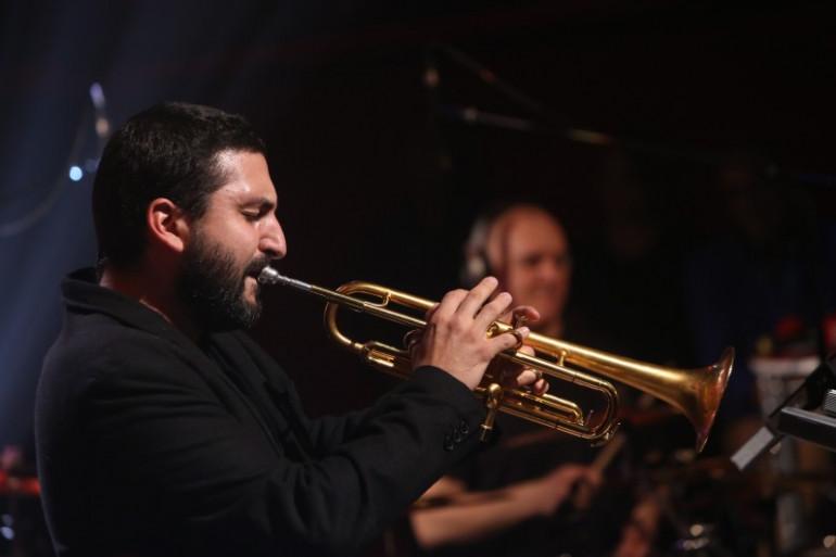 Ibrahim Maalouf en concert à RTL