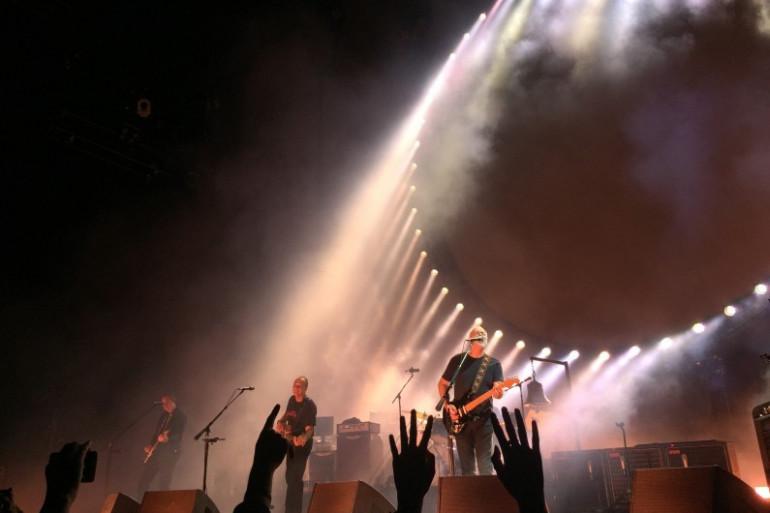 David Gilmour s'est produit à Orange pour son unique date en France, le 17 septembre