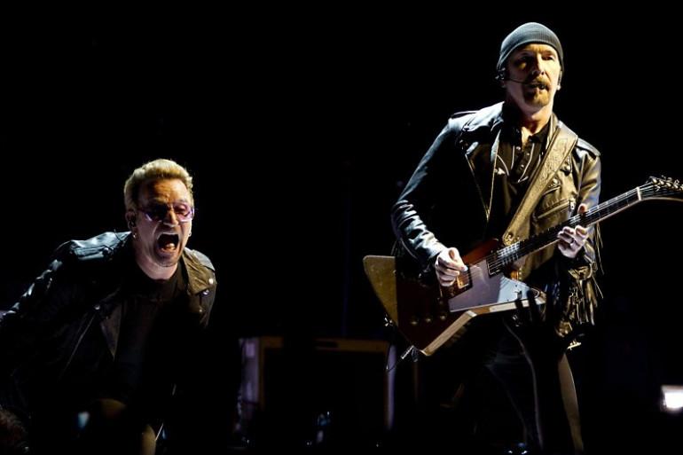 U2 lors de son passage aux Pays-Bas, le 8 septembre
