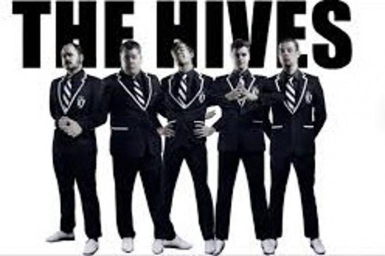 The Hives en concert