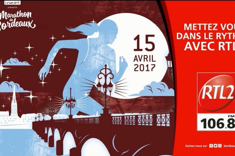 RTL2 Partenaire du marathon de Bordeaux