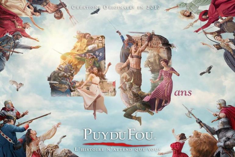 Puy du Fou 40 ans