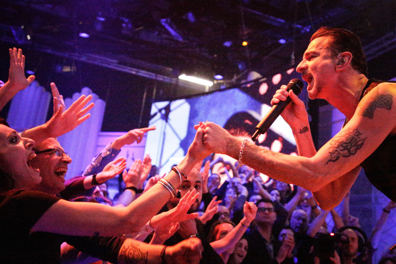Depeche Mode en Concert Très Très Privé RTL2 à Paris le 21 mars 2017