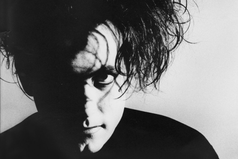 Robert Smith du groupe The Cure