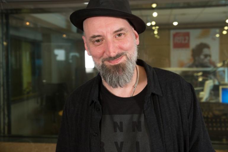Fink dans les studios de RTL2