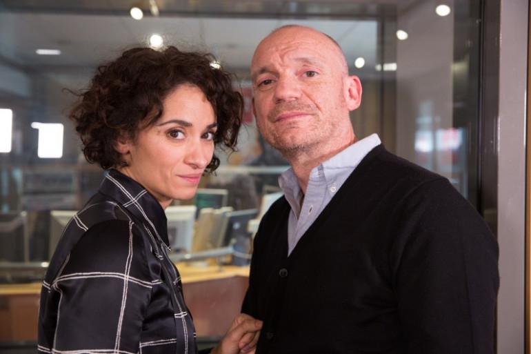 Lady Sir avec Gaëtan Roussel et Rachida Brakni dans les studios de RTL2