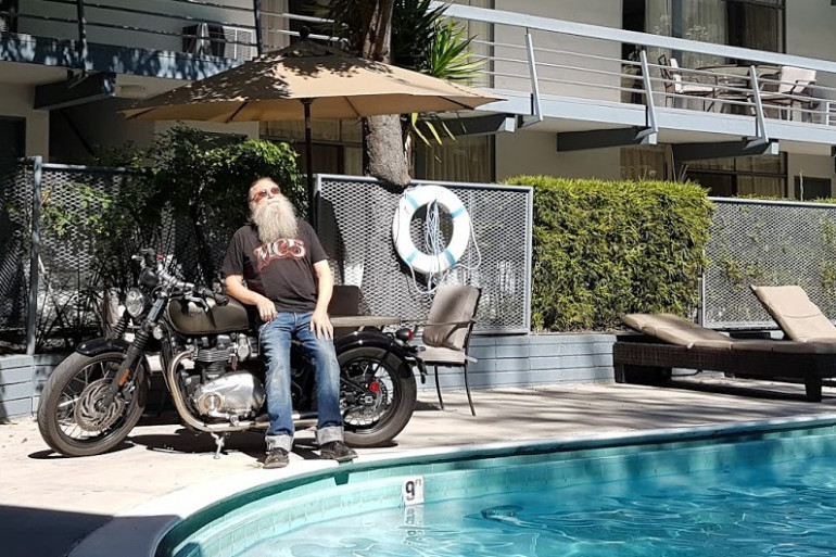 Hit Z Road California L.A. piscine