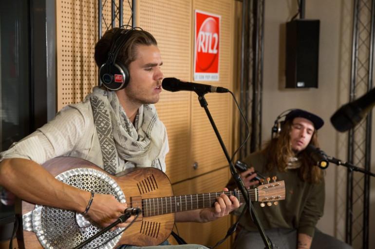 JJ Julius Son de Kaleo en session acoustique dans les studios de RTL2