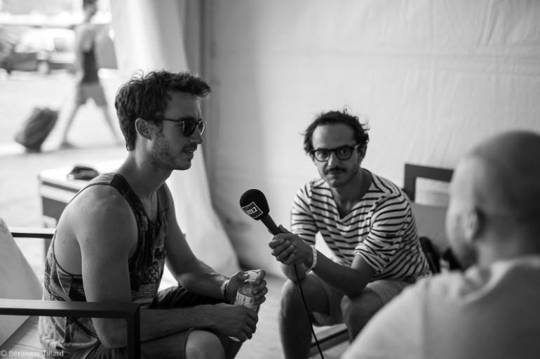 Boulevard des Airs en interview