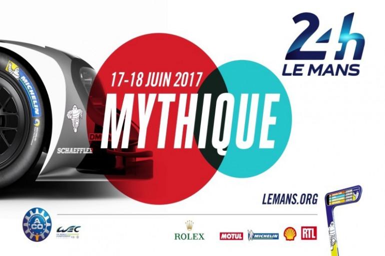 Affiche officielle des 24 heures du Mans