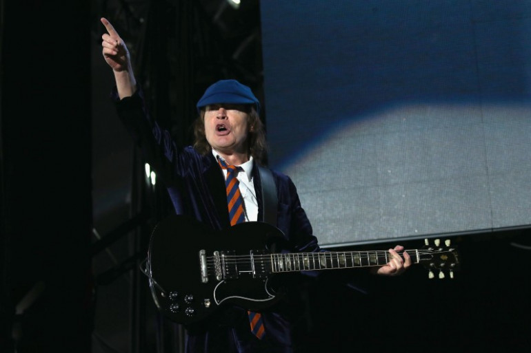 Angus Young d'AC/DC