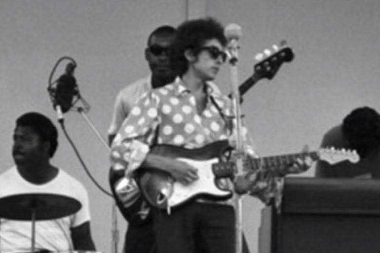 Bob Dylan a électrisé le festival de Newport