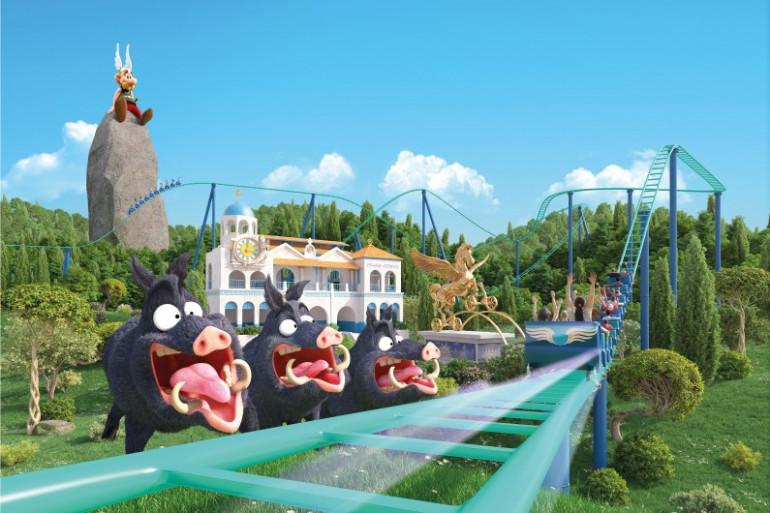 Pégase Express la nouvelle attraction du Parc Astérix