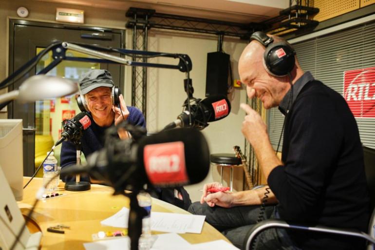 Miossec et Gaëtan Roussel dans l'émission Clap Hands