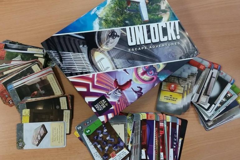 Toute cette semaine tentez de remporter votre jeu d'aventures Unlock!