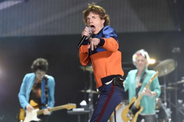 Les Rolling Stones sur la scène du Desert Trip, le 8 octobre 2016 en Californie.