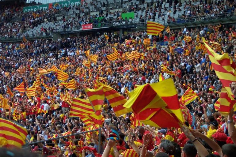 Le drapeau des indépendantistes catalans