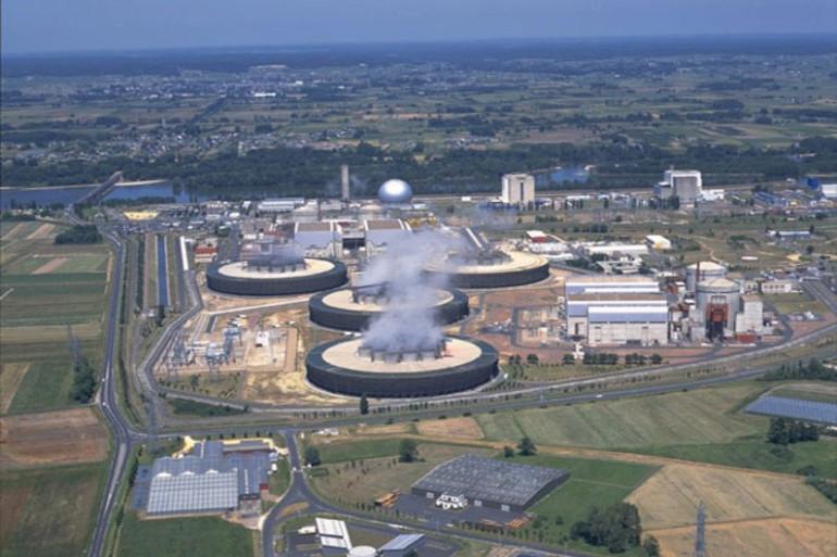 La centrale nucléaire de Chinon (Photo EDF)