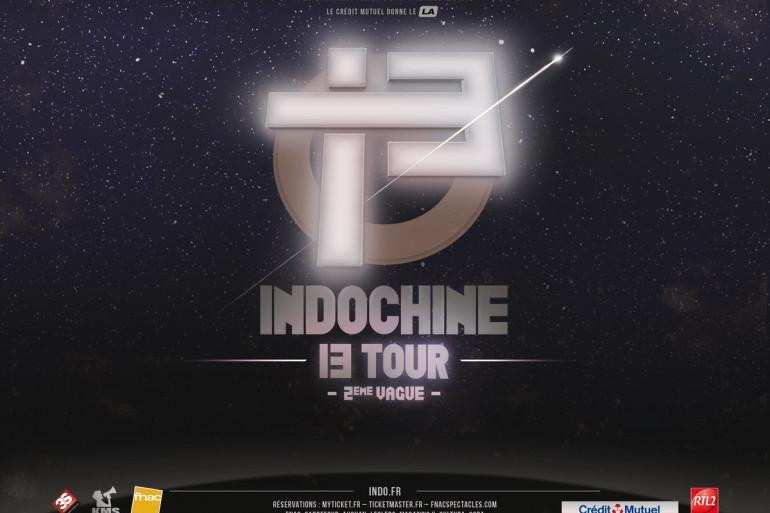 Indochine - 13 TOUR - 2ème Vague