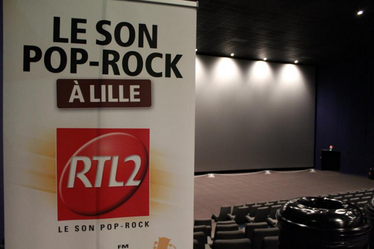 RTL2 Nord & KINEPOLIS Lomme