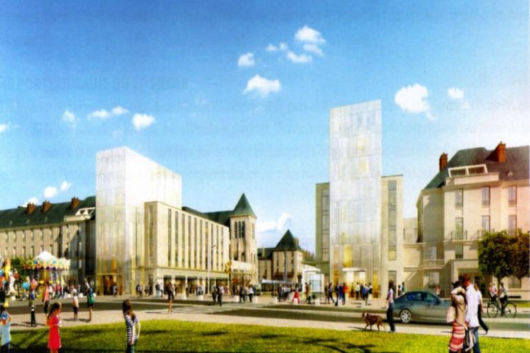 Le projet d'aménagement du haut de la rue Nationale à Tours va être totalement remis à plat.