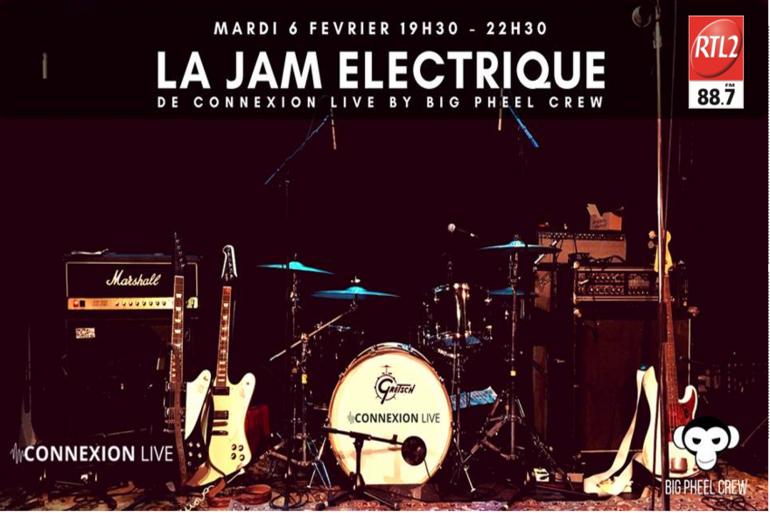 Jam Electrique Connexion Live Toulouse