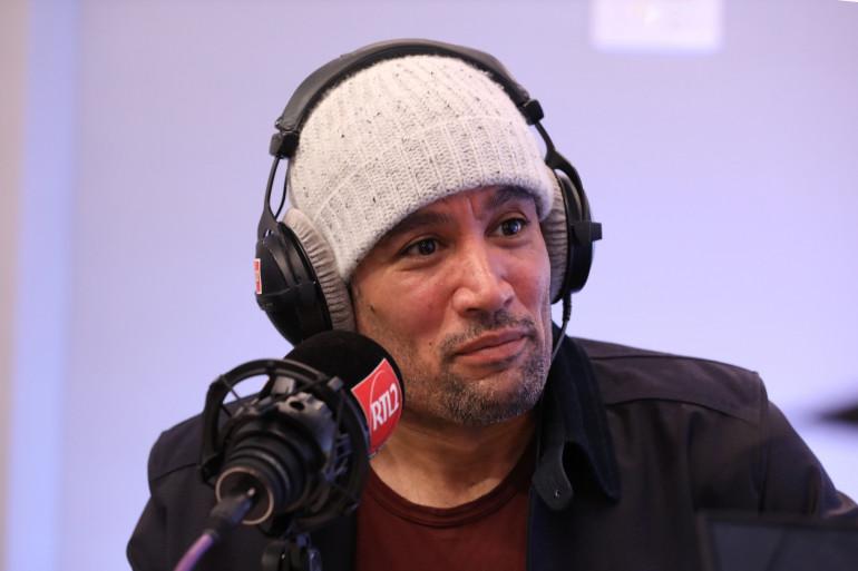 Ben Harper dans les studios de RTL2
