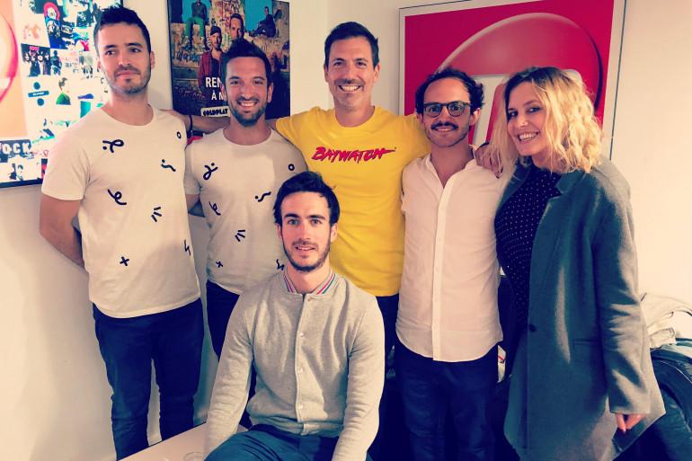 Boulevard des Airs dans les studios de RTL2 en compagnie de Grégory Ascher et Justine Salmon du Double Expresso RTL2