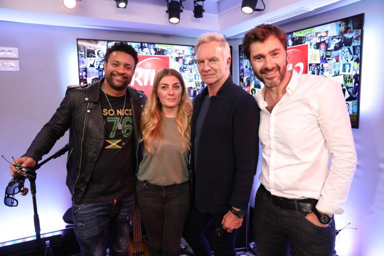 Sting & Shaggy en compagnie de Mathilde Courjeau et Eric Jean Jean dans #LeDriveRTL2