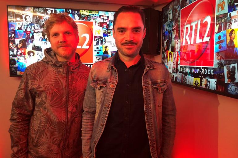 KYO dans les studios de RTL2