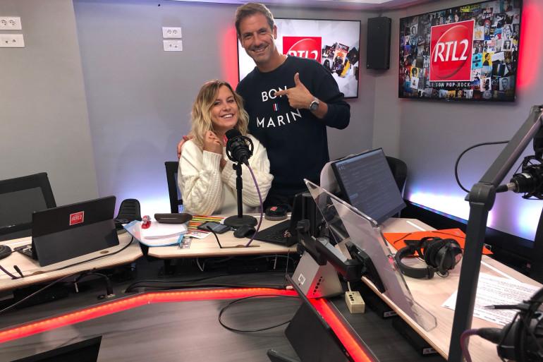 Justine Salmon et Grégory Ascher dans Le Double Expresso