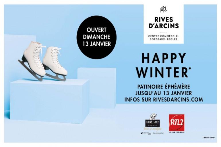 Le Happy Winter à Rives d'Arcins avec RTL2 Bordeaux