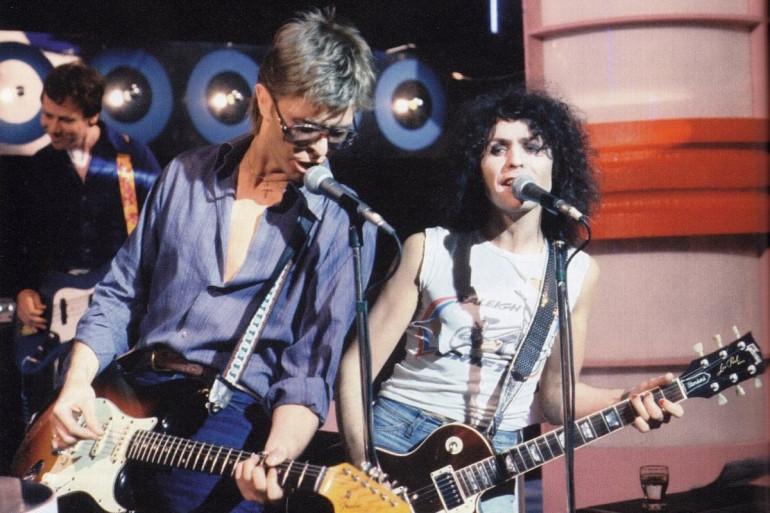 David Bowie et Marc Bolan