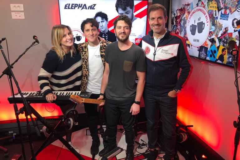 Elephanz dans le Double Expresso RTL2