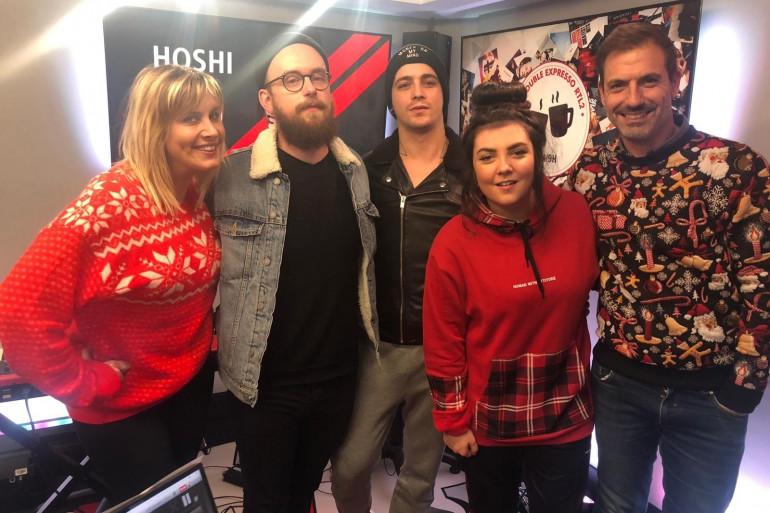 Hoshi dans le Double Expresso RTL22