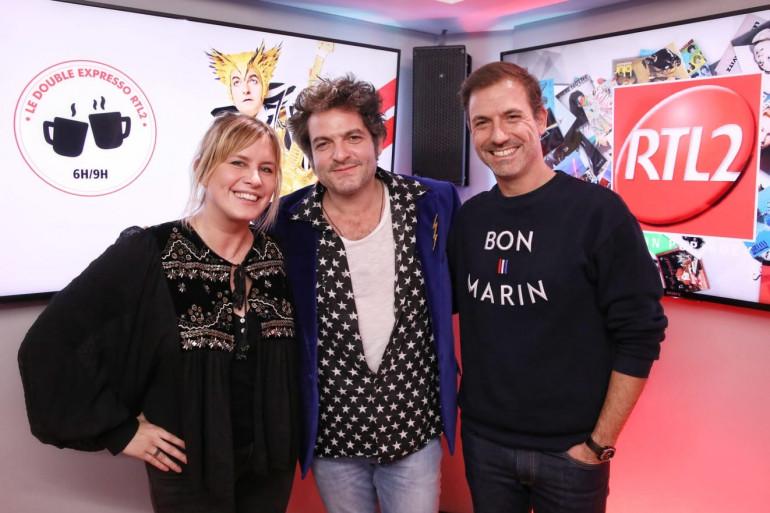 -M- en compagnie de Jusitne Salmon et Grégory Ascher du Double Expresso RTL2