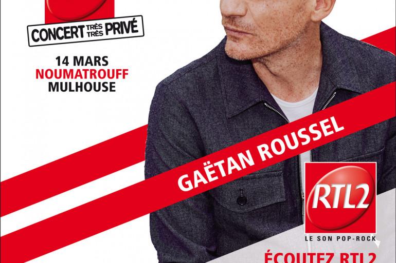 Gaëtan Roussel en Concert Très Très Privé !