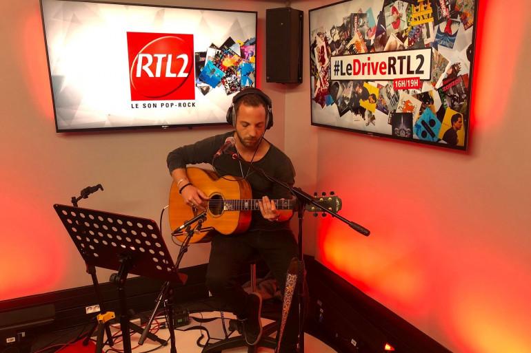 James Morrison dans les studios de RTL2