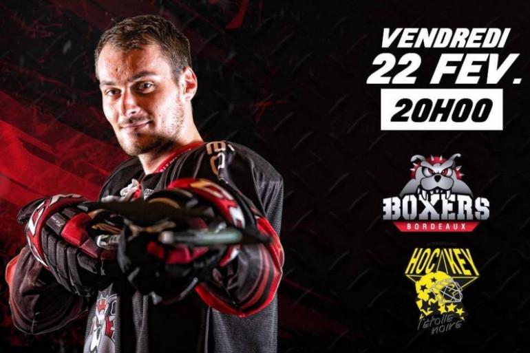 Les boxers de Bordeaux contre Strasbourg le 22/02