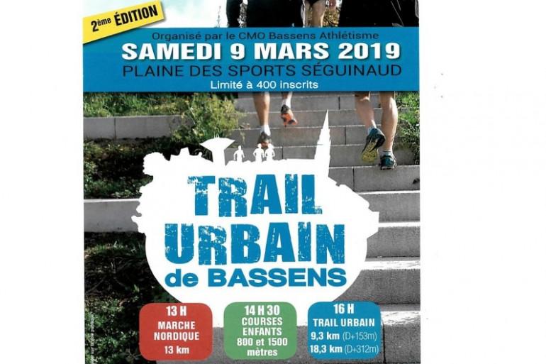 Le 2ème trail urbain de Bassens le 9 mars avec RTL2
