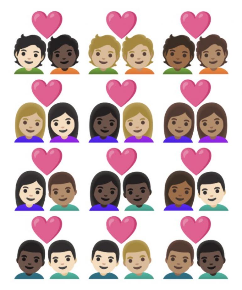 Emoji Femmes Nouveauté Coeur Pantoufles Jaune R23B