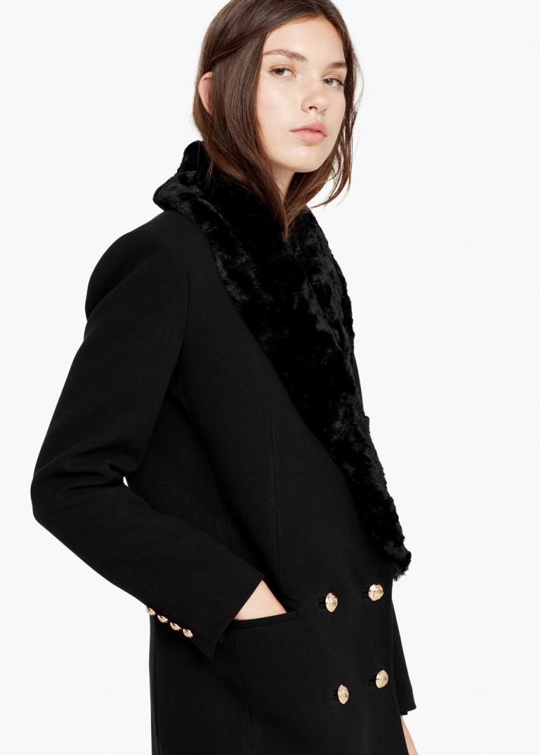 Manteau à double boutonnage, Mango, 64,99 au lieu de 129,99 euros