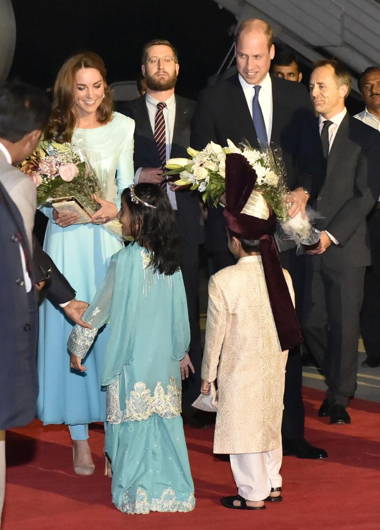 Le prince William et Kate Middleton en tournée royale au Pakistan