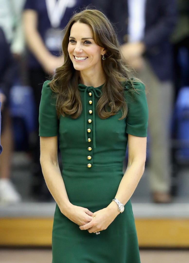 Dans une tenue vert sapin, Kate Middleton a passé une nouvelle journée au Canada