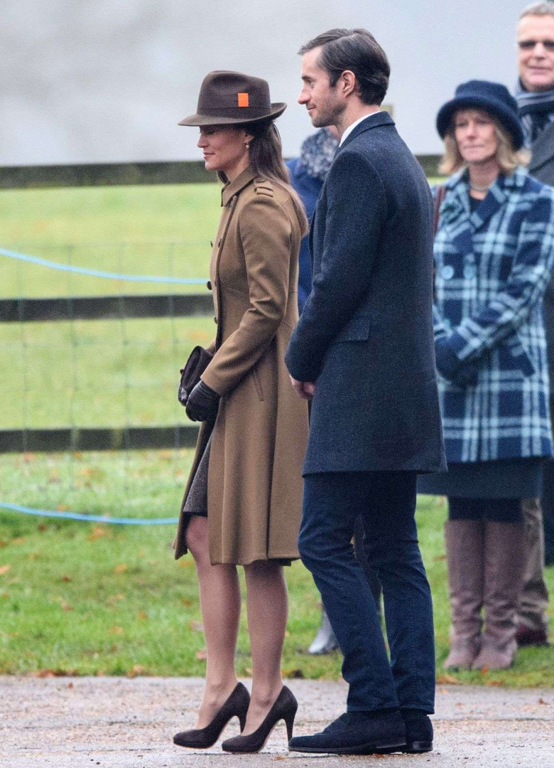 Pippa Middleton et son fiancé James Matthews
