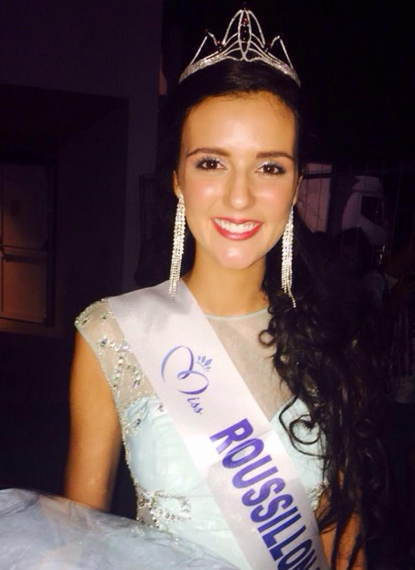 La nouvelle Miss Roussillon, Anaïs Marin, est âgée de 21 ans et mesure 1,78 m