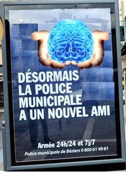 Pour Nikal83 le nouvel ami des policiers est un cerveau