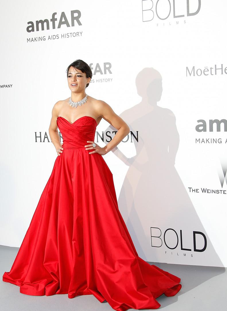 L'actrice Michelle Rodriguez
