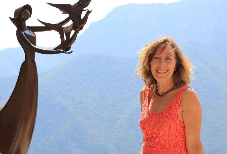 Monique, 54 ans, hélicicultrice en Provence-Alpes - Côte d'Azur