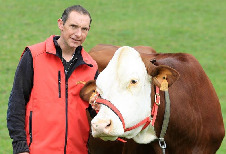 Jean-Paul, 37 ans, éleveur de vaches laitières en Bourgogne - Franche-Comté